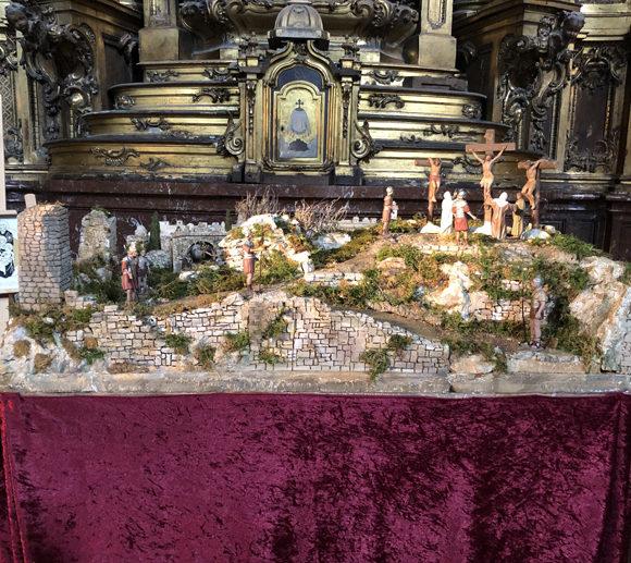 Kristoren  Pasioaren  diorama